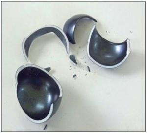 Kintsugi sake cup broken